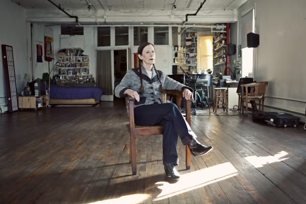 Meredith Monk in her apartment, October 2010 [photo: Erica Beckman]