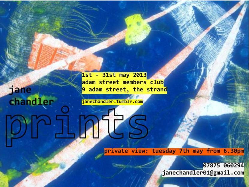 Jane Chandler: Print Artist